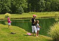 Fishing at Walt's Pond - Photo by Jim Stanley