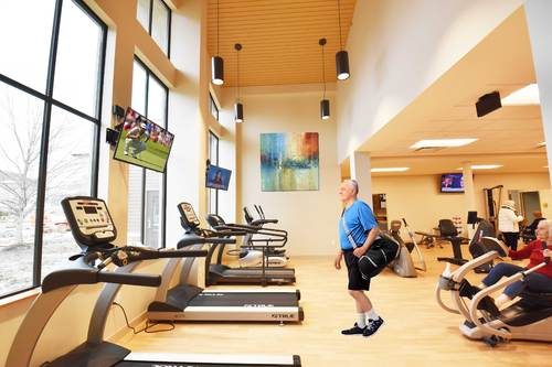 Fitness Center at Laurel Lake